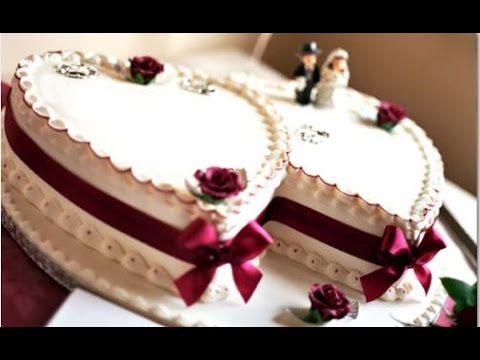 Heart Shaped Wedding Cakes Pictures Gallery
