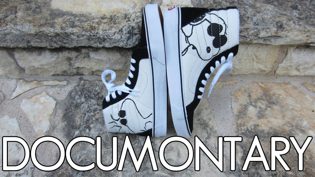 16b4cd3154 Vans X Peanuts SK8 Hi Reissue - Joe Cool (Black) • On-Feet   Review +  Sneakerboard