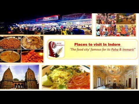 Places to visit in Indore | Food, Shopping & Tourist Attractions |India Travel | MP Tourism