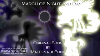 Gambar cover March of Night and Day // MathematicPony