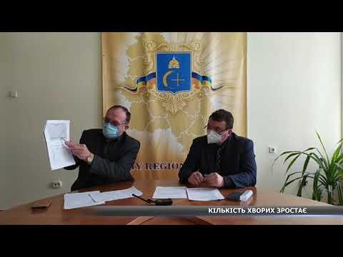 За добу 7 нових хворих на COVID-19 на Сумщині