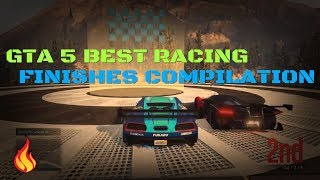 GTA 5 BEST RACING FINISHES COMPILATION