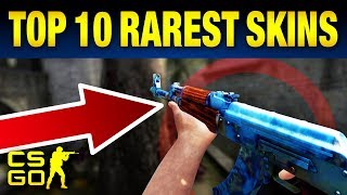 Top 10 Rarest CS:GO Skin Patterns