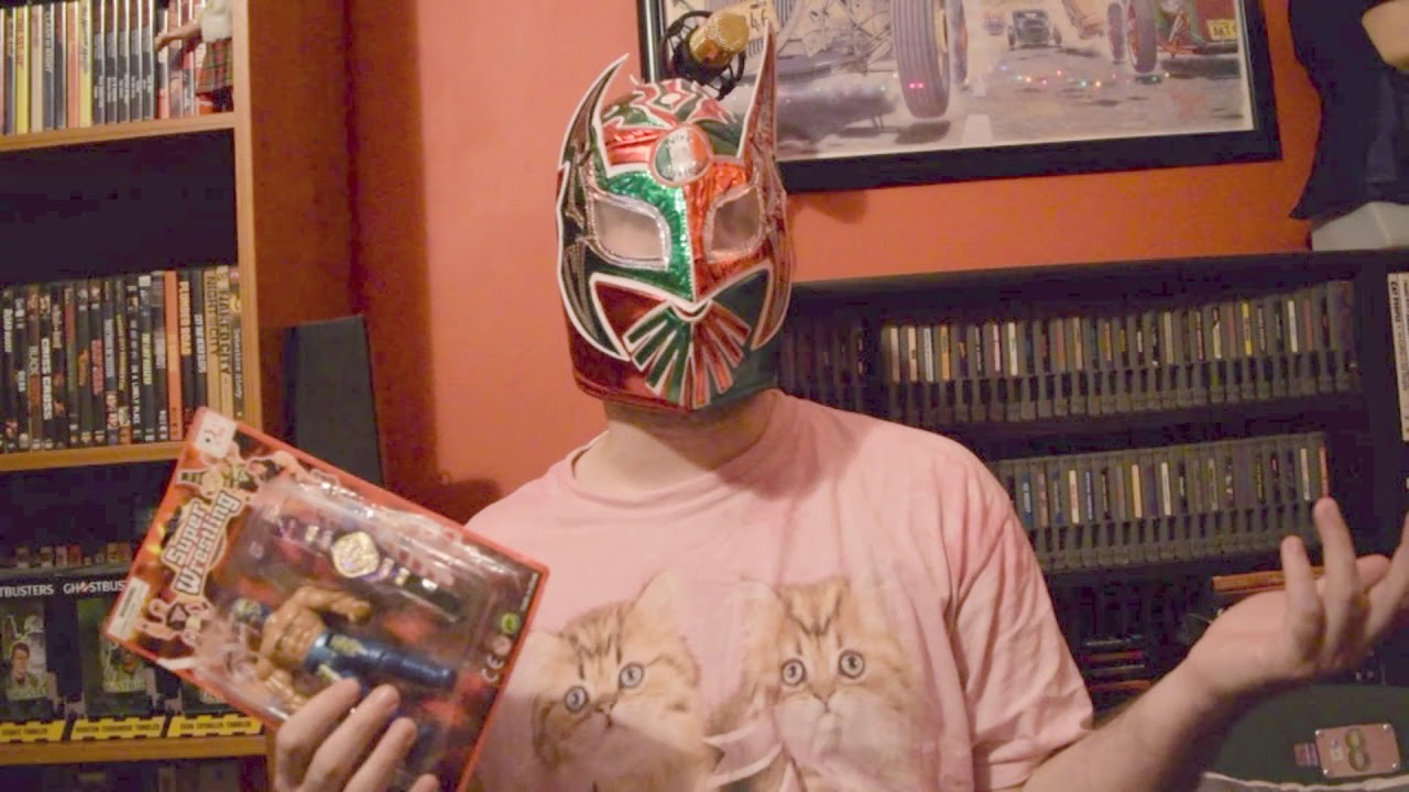 Lucha Libre Youtube Lucha Libre Rey Mysterio Action Figure Reviewed Live On Omegle