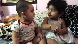 Twins Fighting |cute funny|babies