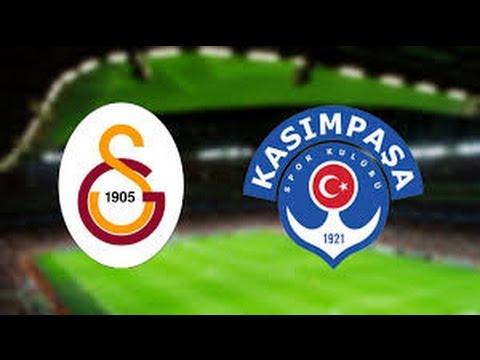 Galatasaray - Kasımpaşa 3-2 Maçı...