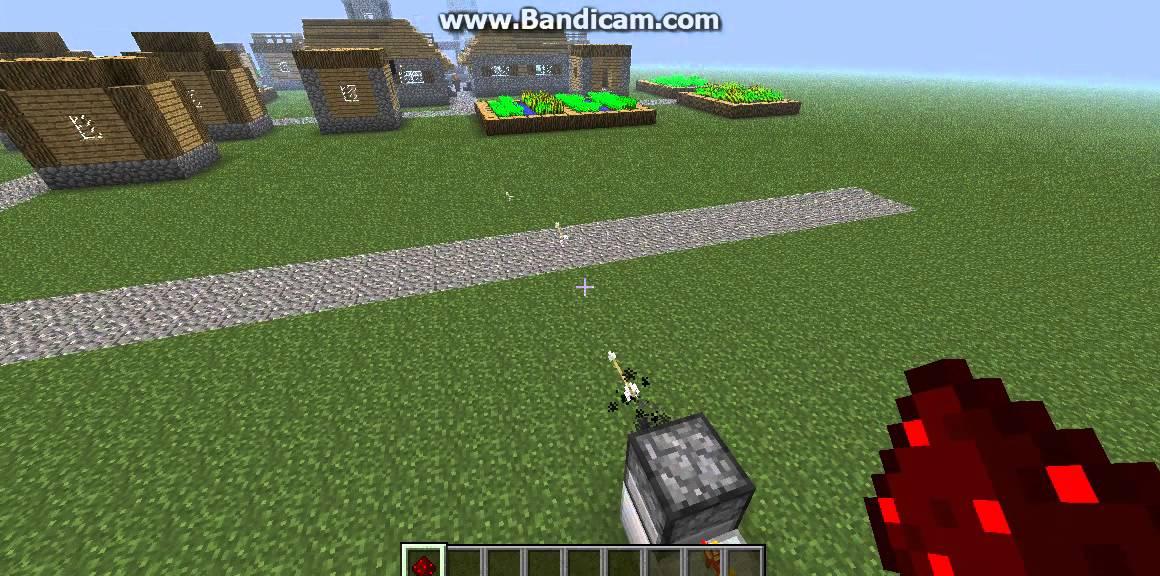 Minecraft hoe maak je een machine gun youtube - Hoe maak je een woonkamer ...