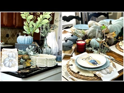 Pier 1 Style Box | How To Set A Fall Harvest Tablescape