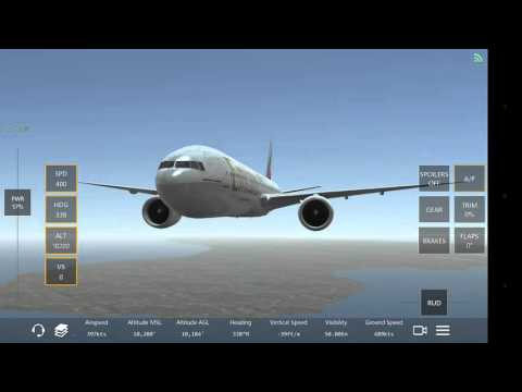Infinite Flight ✈ Emirates 777-300ER TFFR to TAPA Live multi-player with ATC  الإمارات