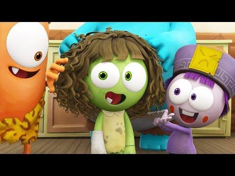 Zizi's New Hair | Spookiz | 스푸키즈 | Kids Cartoons