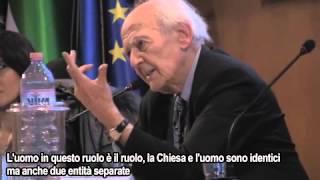 """Le dimissioni di Papa Benedetto XVI, Bauman: """"Un uomo che confessa i suoi limiti"""""""