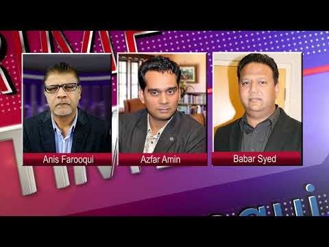 Prime Time with Anis Farooqui on Metro 1 News World