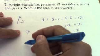 Matemática Básica - SAT Math Practice - Example 3