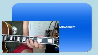 Guitar Chord Melody Thanks For The Memory.