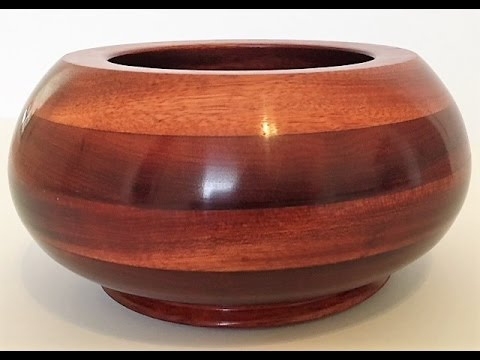 Woodturners Journal: Bloodwood Bowl