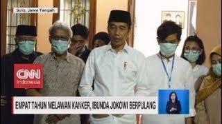 Gambar cover Perjuangan Ibunda Jokowi Empat Tahun Melawan Kanker