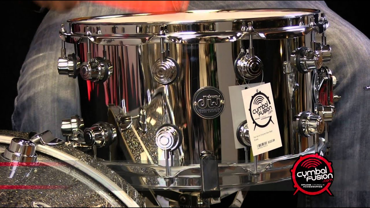 dw performance series 8x14 chrome over steel snare drum youtube. Black Bedroom Furniture Sets. Home Design Ideas