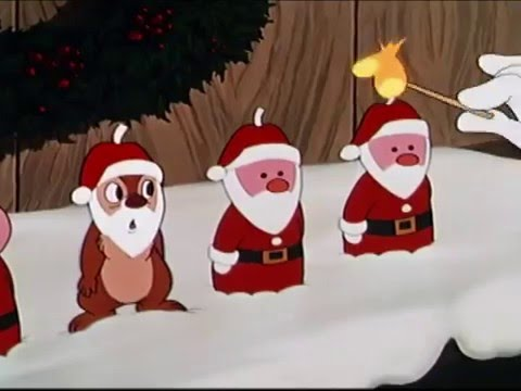 journey with classic christmas cartoons