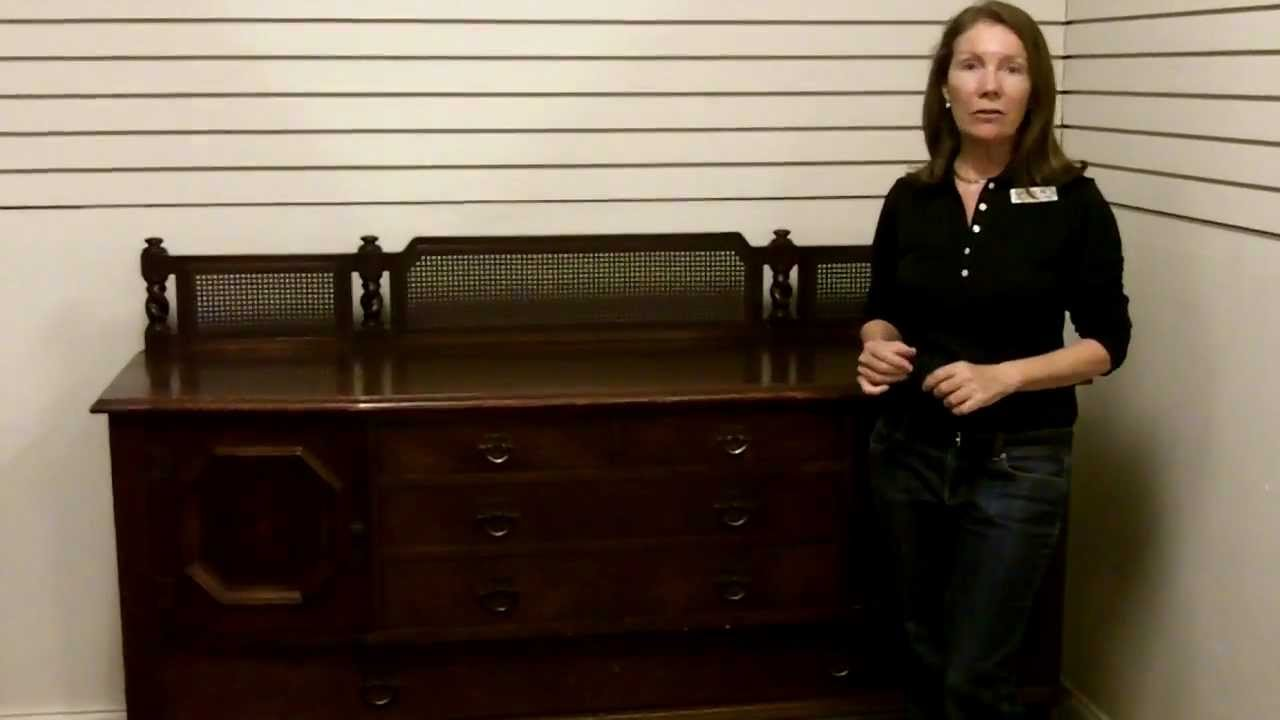 Antique Stickley Furniture, Antique Sideboard Buffet Stickley Quaint Furniture  Antique Furniture   YouTube