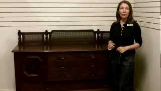 Antique Stickley Furniture, Antique Sideboard Buffet Stickley Quaint Furniture Antique Furniture