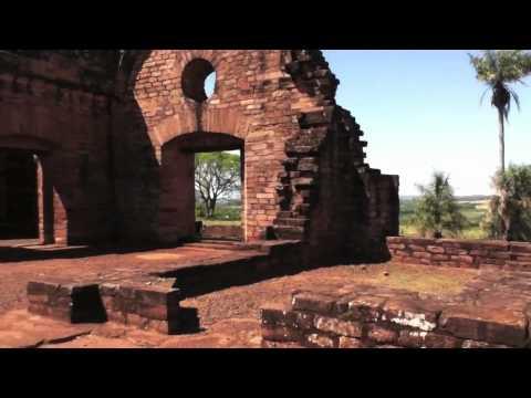 Jesuit ruins near Encarnación, Paraguay