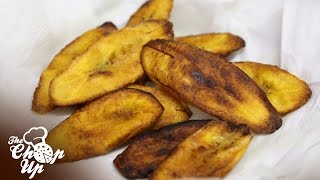 The Chop Up: How To Make Fried Plantains In Under One Minute