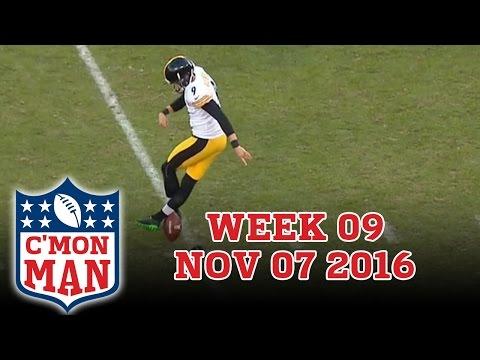 ESPN C'MON MAN! Week 09 - 11-07-16