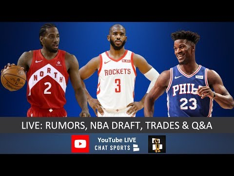 4c977c31a8f NBA Now - Live With Jimmy Crowther & Tom Downey: Rumors, Draft ...