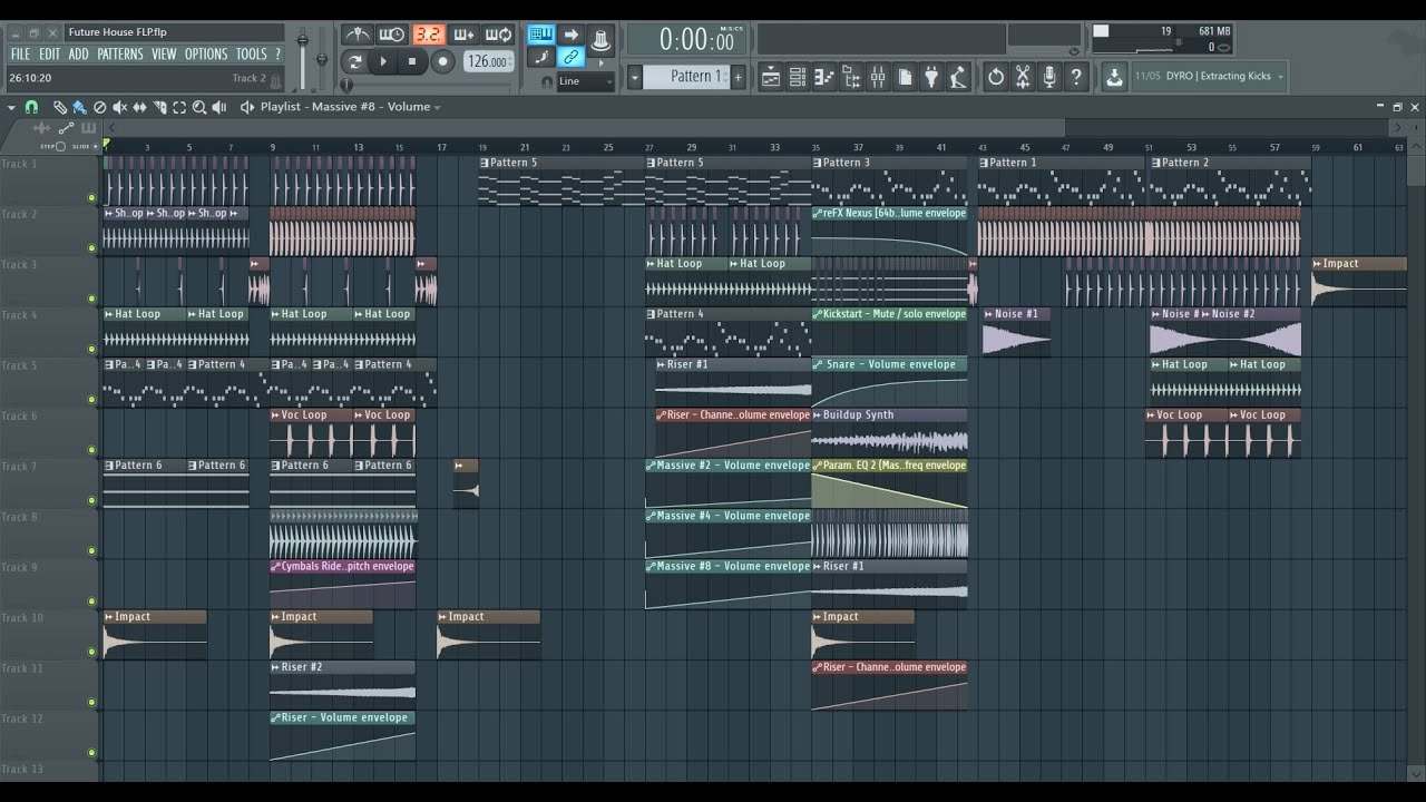Free Professional Future Deep House Track Flp Presets