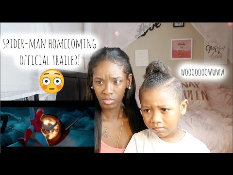 SPIDER-MAN HOMECOMING OFFICIAL TRAILER #2 (RESPONSE)