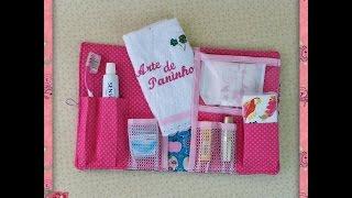 Estojo de higiene bucal – Passo a passo com Arte de Paninho
