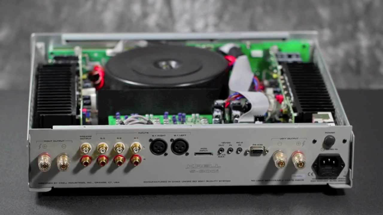 Stereo Design Krell S 300i Integrated Amplifier In Hd