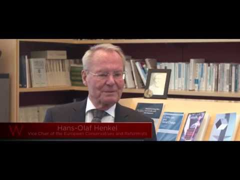 An interview with Hans-Olaf Henkel