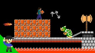 10 More ways Steve could EASILY defeat Bowser
