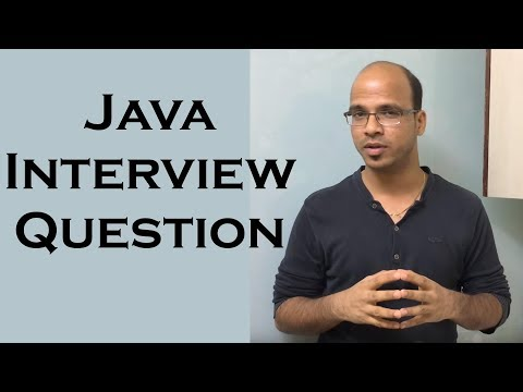 Java Interview Question Part 1 | Sorting