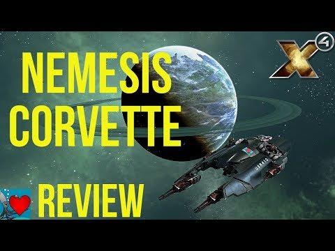 X4 Foundations Ships - Nemesis Corvette Review