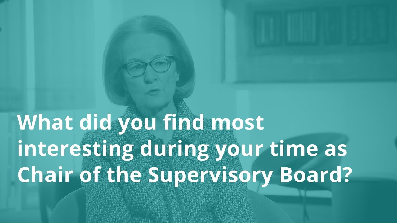 Interview with Danièle Nouy: what did you find most interesting during your time as Chair?