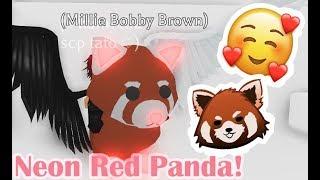 ROBLOX | Adopt Me | Neon Red Panda!