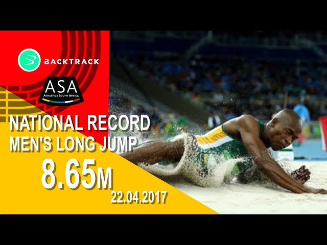 MEN LONG JUMP - Luvo Manyonga 8.65M!!!