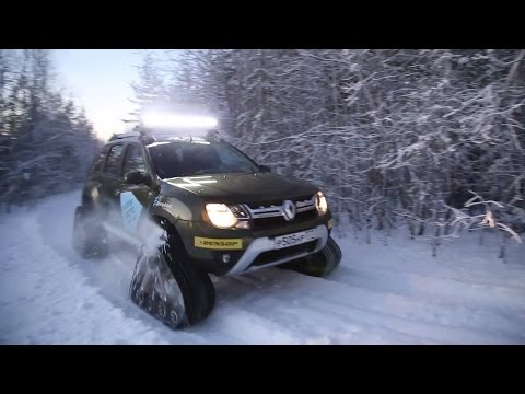 2016 Renault Duster приключения АВТОПАНОРАМЫ за полярным кругом