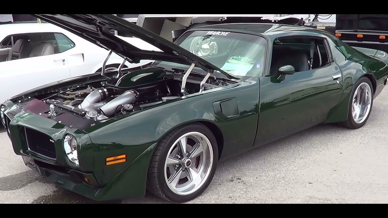 1973 Firebird Year One Twin Turbo Ls7 Brewster Mcq Youtube Pontiac Trans Am