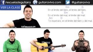 El Límite Del bien y del Mal Acordes para guitarra ( la Frontera - El Límite) DEMO