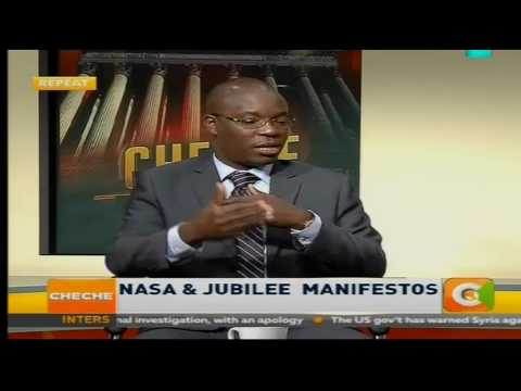 Cheche: NASA and Jubilee Manifestos (Part 1)