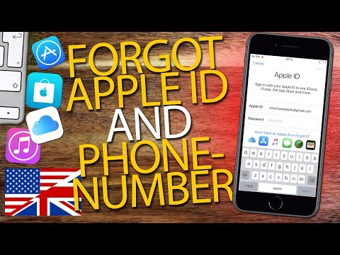 How to sign in apple id without phone number