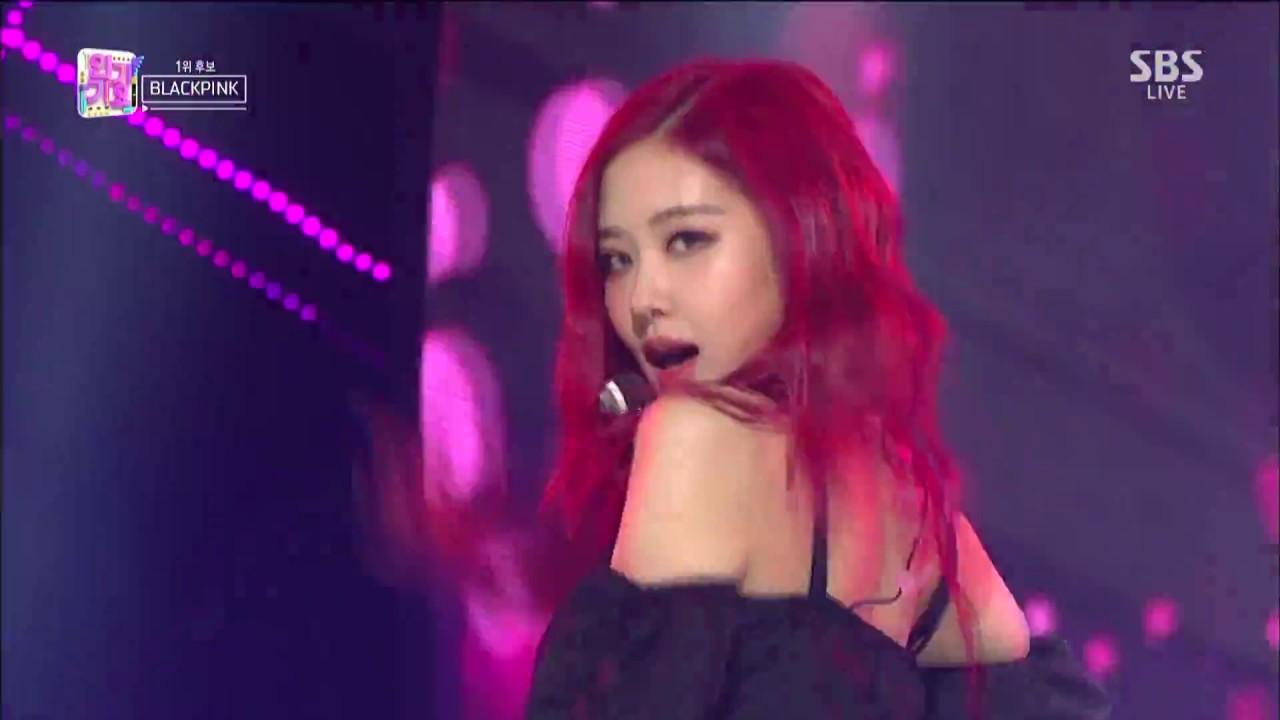 July 8 2018 Blackpink Sbs Inkigayo Ddu Du Ddu Du Performance