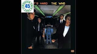 THE WHO - EMINENCE FRONT - It's Hard (1982) HiDef :: SOTW #2
