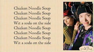 J-Hope (BTS 방탄소년단) - Chicken Noodle Soup (feat. Becky G) Easy Lyrics