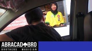 Drive Thru Magic Prank Indonesia - abracadaBRO Street Magic Indonesia