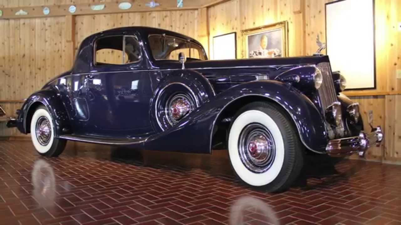1937 packard twelve coupe ccca museum youtube for 1937 packard 3 window coupe