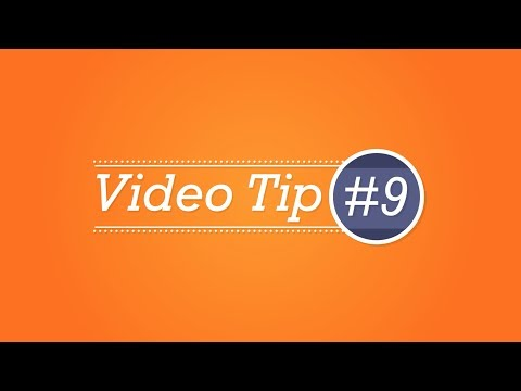 Video Marketing tip #9 - Engaging content is more likely to be shared